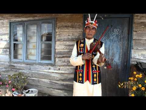 Tangkhul Naga tribe music instruments in Nagaland, North East India.