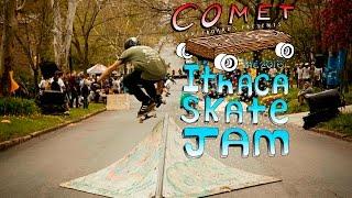 Comet Skateboards x Skate Invaders //  Ithaca Skate Jam 2016