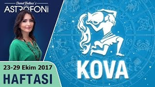 Kova Burcu Haftalık Astroloji Burç Yorumu 23-29 Ekim 2017