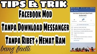 Facebook Tanpa Massanger, Hemat Kuota Internet di Android