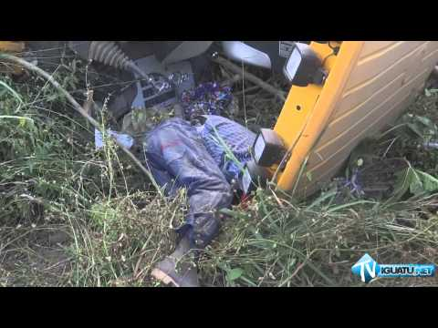 Homem morre esmagado por retroescavadeira em Iguatu