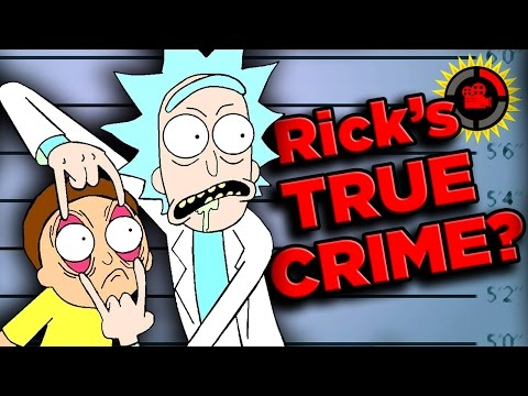 Film Theory Rick s True Crime EXPOSED Rick and Morty