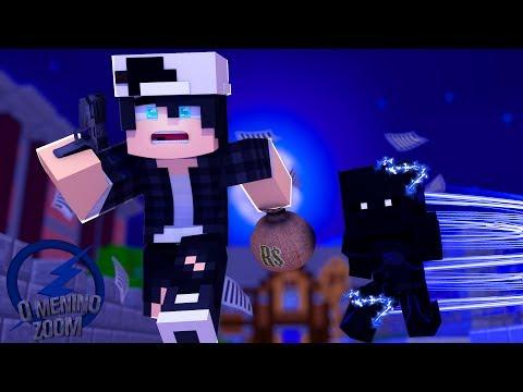 Minecraft: O Menino Zoom Ep.05 O ASSALTO AO BANCO !!