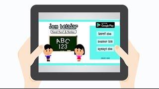Aplikasi Edukasi -Jom Belajar Abc ll 123