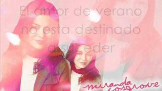 Miranda Cosgrove - Stay my baby - Subtitulada en español