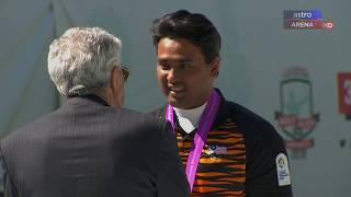 Khairul Anuar layak ke Olimpik 2020 | Recurve Individu | World Archery Championships | Astro Arena