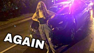 I CRASHED MY CAR AGAIN