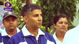 Vironika Sharma hosting Good evening India