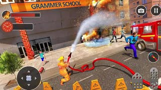 Fire Fighter Truck Real City Heroes Android Gameplay HD
