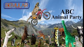 ABC Animal Party (for kids AND adults!) - by Bemular