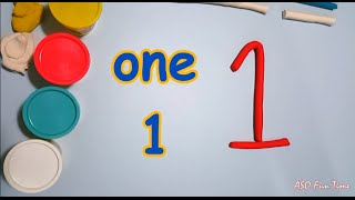 Learn Numbers With Playdoh - 1 to 10 (One, Two, Three, Four, Five, Six, Seven, Eight, Nine, Ten)