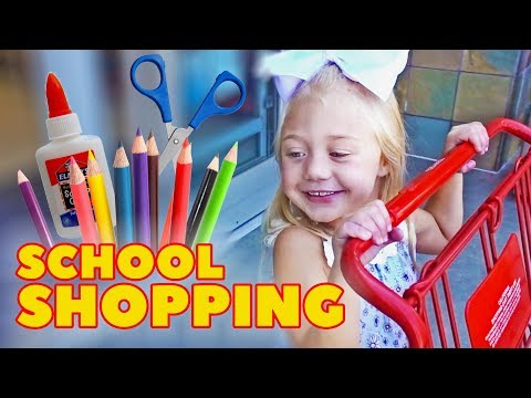 Xxx Mp4 EVERLEIGH GOES SCHOOL SHOPPING FOR THE VERY FIRST TIME 3gp Sex