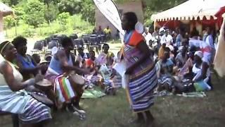 Venda women perform Malende traditional dance