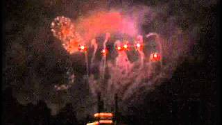 Rare Classic Disneyland Christmas Firework Show -  2003