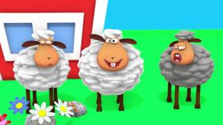 Bä bä vita lamm 6 gånger lång version av Busigt Lärande