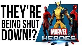 Why is Disney SHUTTING DOWN Marvel Heroes?