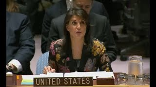 YOU will not BELIEVE what UN Ambassador Nikki Haley just said about International Peace and Security