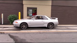 Driving a Right-Hand Drive Nissan Skyline GT-R in the United States