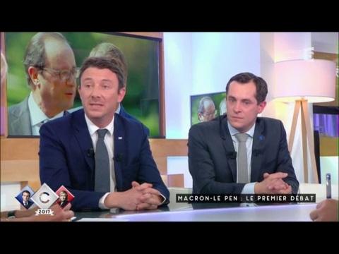Macron - le Pen : Le premier Débat - C à vous - 25/04/2017