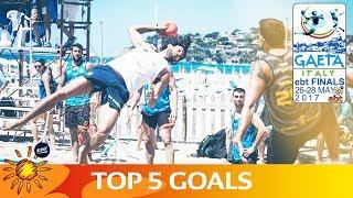 Top 5 Goals | European Beach Handball Tour Finals 2017 | Day 2