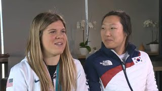 Brandt sisters share their Olympic memories