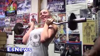 Kendra Sunderland if she went to the olympics what would she compete in  EsNews Boxing