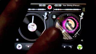 DJ Ravine DJaying With Djay On IPhone