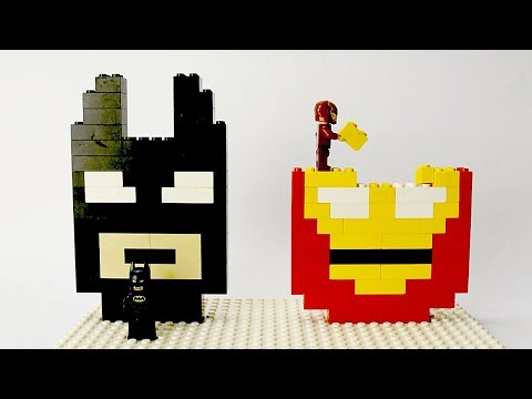 Xxx Mp4 Lego Batman And Iron Man Brick Building Mosaics Superhero Fun Animation 3gp Sex
