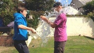 ICE BUCKET CHALLENGE PRANK!!