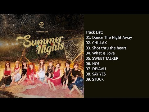 [Full Album] TWICE – Summer Nights (Album)