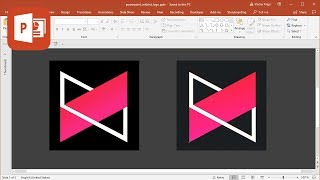 How to create MKBHD logo in Microsoft PowerPoint (Tutorial)
