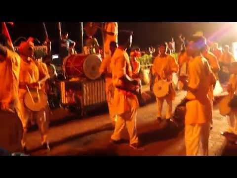 sanskruticharaja 2016 visarjan - dhol tasha pathak - aamhi mavde - video 1