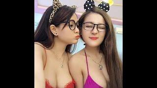 2 Vietnamese Big BOOBS Teen Girl
