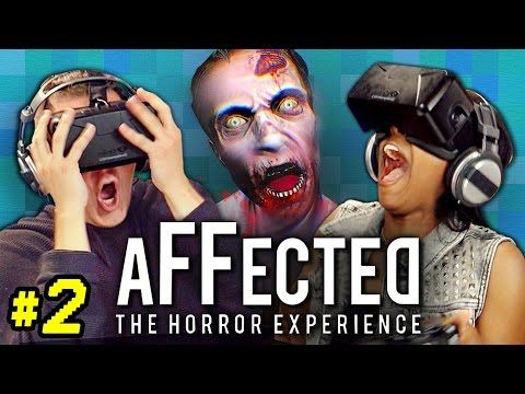 OCULUS RIFT AFFECTED 2 THE HOSPITAL React Gaming