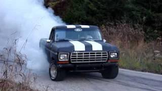 79 ford f150 badass burnout 460 posi