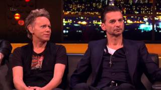 "Depeche Mode - ""Interview + Heaven"" - Live Jonathan Ross Show - ITV1 2013   dsoaudio"