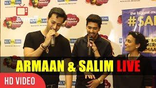 Armaan Malik And Salim Merchant Singing Live At #Salim Show | 92.7 BigFM