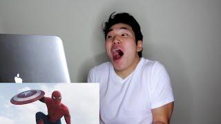 Civil War Trailer 2 Reaction: Spider-Man