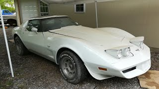 Branden's 1977 C3 Corvette Project Part 1