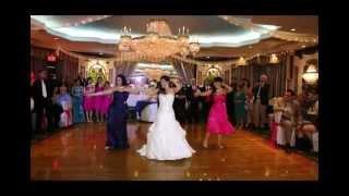 OFFICIAL Bellydancer Bride and Bridemaids.wmv