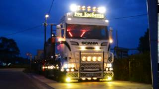 Scania V8 tuning pretty flashing lights