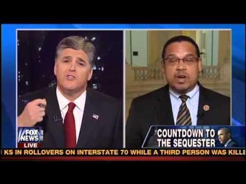 Sean Hannity Finally Got His Own Medicine Congressman Keith Ellison