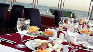Kız Kulesi Videosu 4K  Maidens Tower   Istanbul  2016