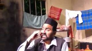 SAKHARAM BINDER monologue (on the set) (Hindi play by Vijay