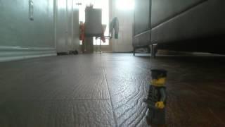 Sneakers crush Lego man