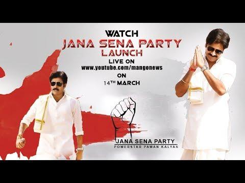 Power Star Pawan Kalyan's (PSPK) (PK) Jana Sena Party Launch full HD video