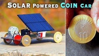 How to Make Solar Powered Coin Car