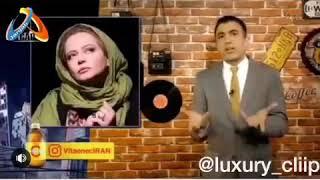 تیکه سنگین سینا ولی الله و مهران مدیری به بهاره رهنما
