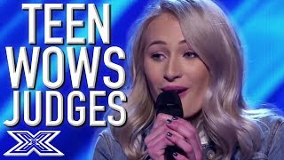 14 Year Old Australian Teen WOWS The Judges and Audience | X Factor Global