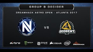 CS:GO - EnVyUs vs Godsent - Cache - DreamHack ASTRO Open Atlanta 2017